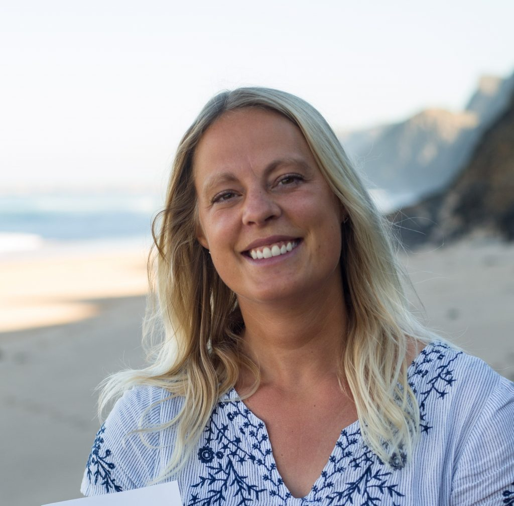 Franziska Hülshoff am Meer, Autorin und achtsame Schreibrituale